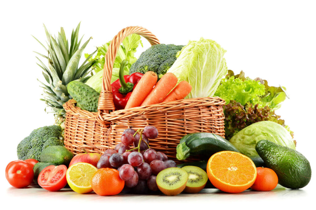 leafy vegetables and fruits for pregnancy