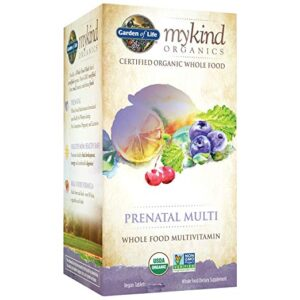 Garden of Life Organics Prenatal Multivitamin Supplement with Folate