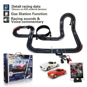 AGM Slot car Set with Racing Assistant