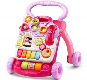 VTech Sit to Stand Learning Walker, Pink