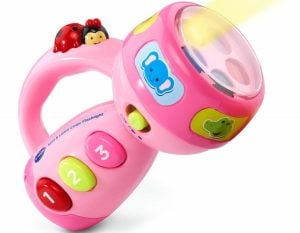 VTech Spin and Learn Color Flashlight – Pink – Online Exclusive