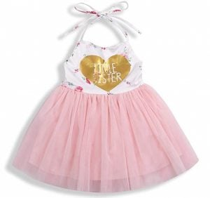 Baby Girl Fall Outfits 1st Birthday Romper Top Long Sleeve Floral Tutu