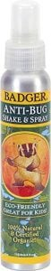 Badger Anti-Bug Repellent Spray - 100% Natural and Certified Organic