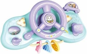 Kids Driving Steering Wheel with Lights, Music and Sound