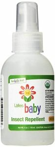 Lafe's Baby Organic Insets Repellent