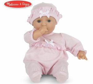 Melissa & Doug Mine to Love Jenna 12-Inch Soft Body Baby Doll
