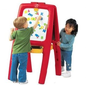 Step2 Easel for Two Kids (Double-Sided Art Easel)