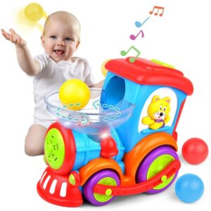 Kidpal Educational Ball Popping Toddler Train