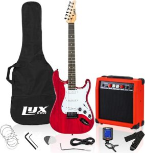 LyxPro 39-inch Electric Guitar Kit