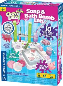 Ooze Labs Soap and Bath Bomb lab