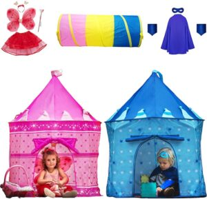 Playz 10-Piece Boys & Girls Dress Up Castle
