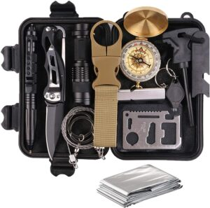 Survival Gear and Equipment 13 in 1