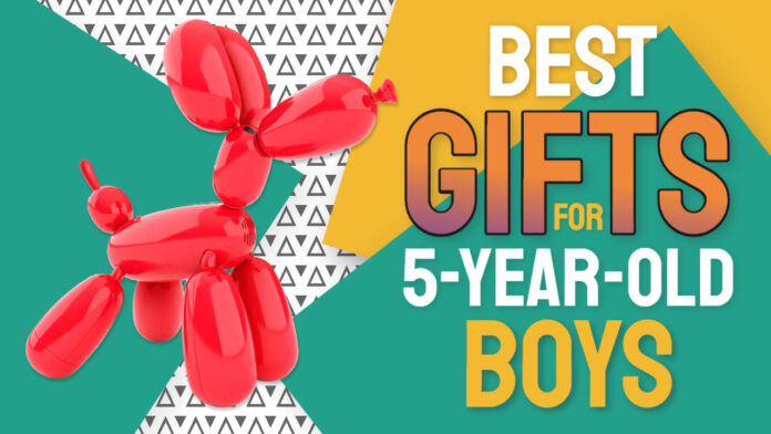 best gifts for 5 year old boys